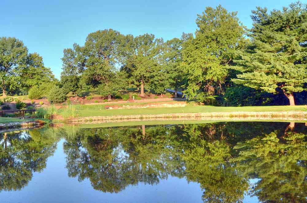 Ballwin-Golf-Course,-St-Louis,-MO-Reflection
