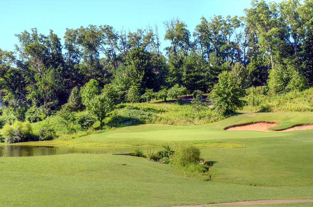 Bear-Creek-Golf-Club,-Wentzville,-MO-Green