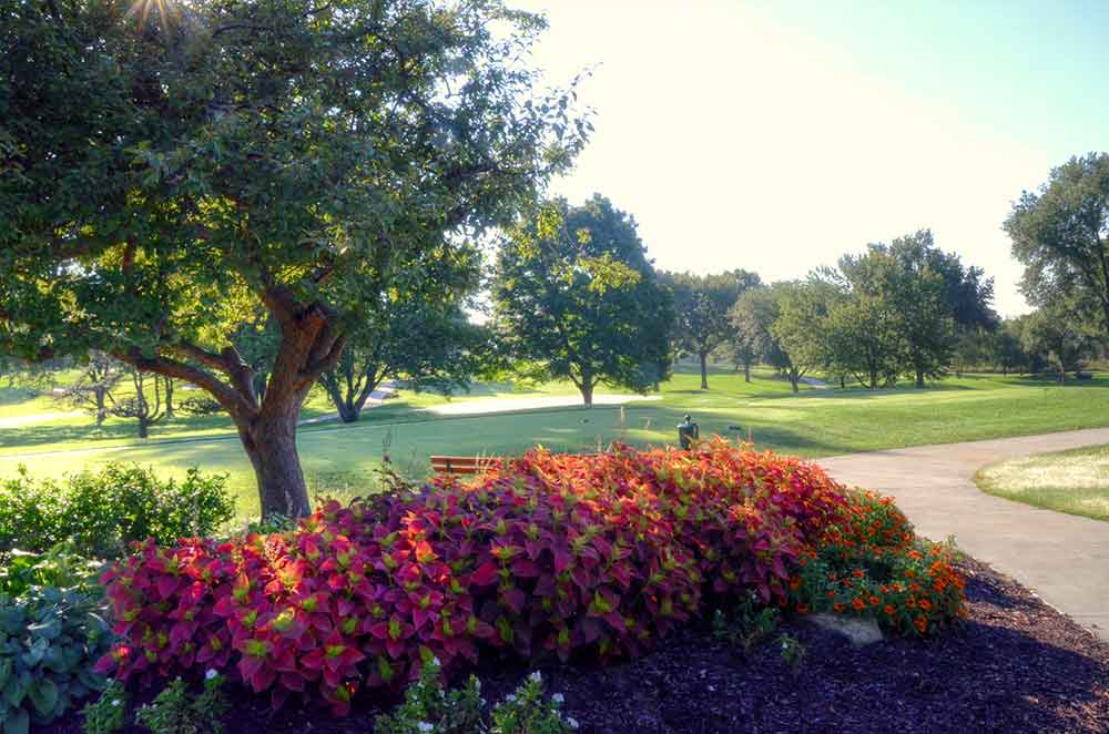 Blue-Hills-Country-Club,-Kansas-City,-MO-Club-Flowers