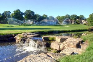 Blue-Hills-Country-Club,-Kansas-City,-MO-Creek