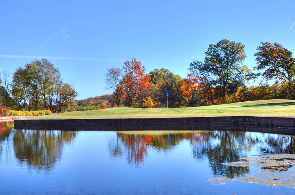 Franklin-County-Country-Club,-Washington,--MO,-Reflection