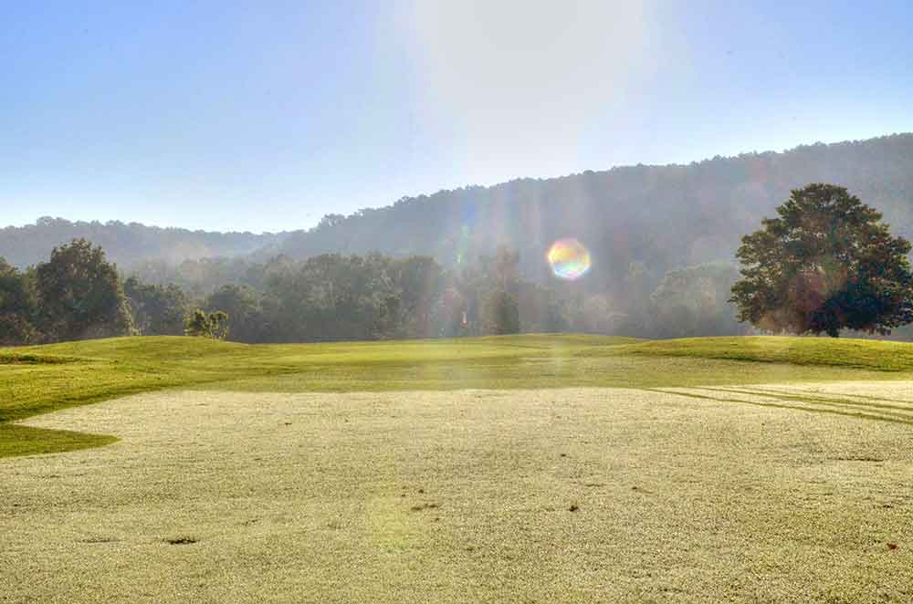 Hidden-Valley-Golf-Links,-Clever,-MO-Sunrise