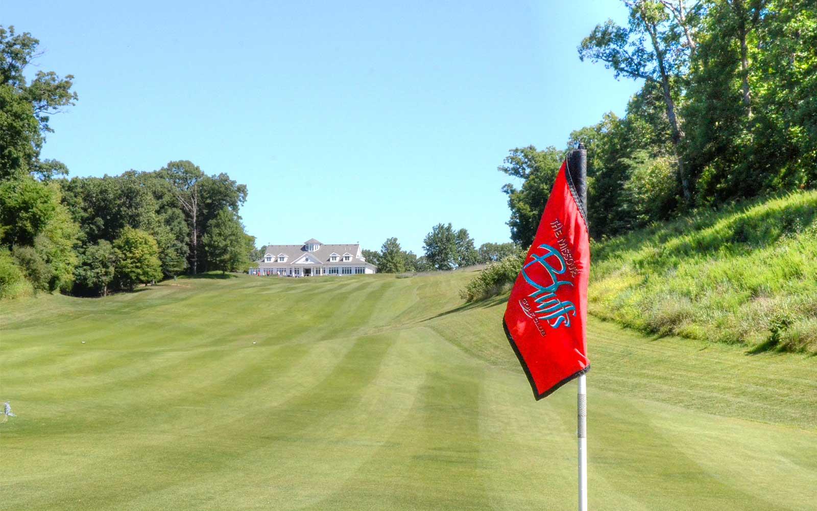 Missouri-Bluffs-Golf-Club,-St-Louis,-MO-Flag