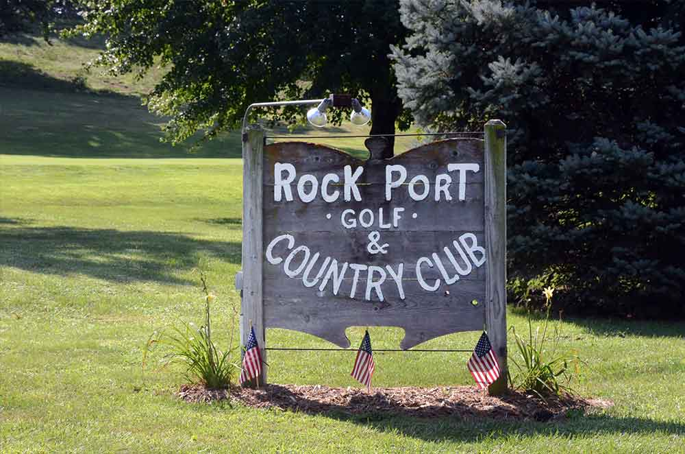 Rock-Port-Golf-and-Country-Club,-Rock-Port,-MO-Sign