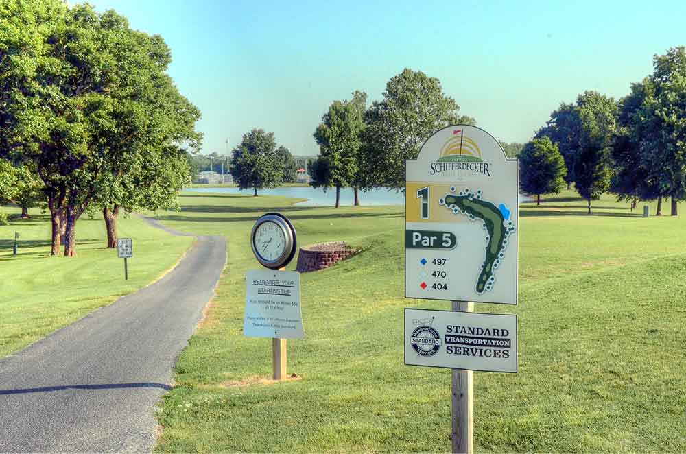 Schifferdecker-Golf-Course,-Joplin,-MO-Tee-Marker