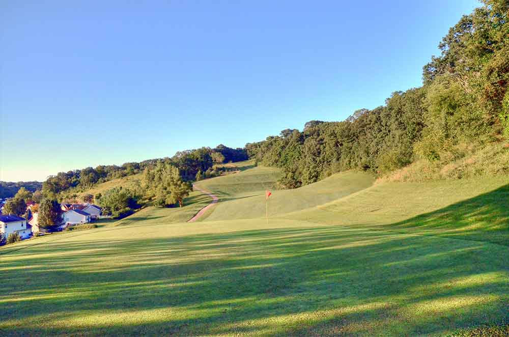 Sugar-Creek-Golf-Course,-High-Ridge,-MO-Green