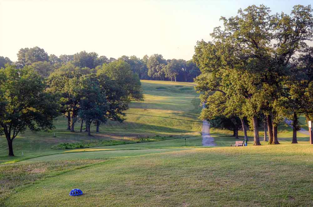 Swope-Memorial-Golf-Course,-Kansas-City,-MO-Fairway