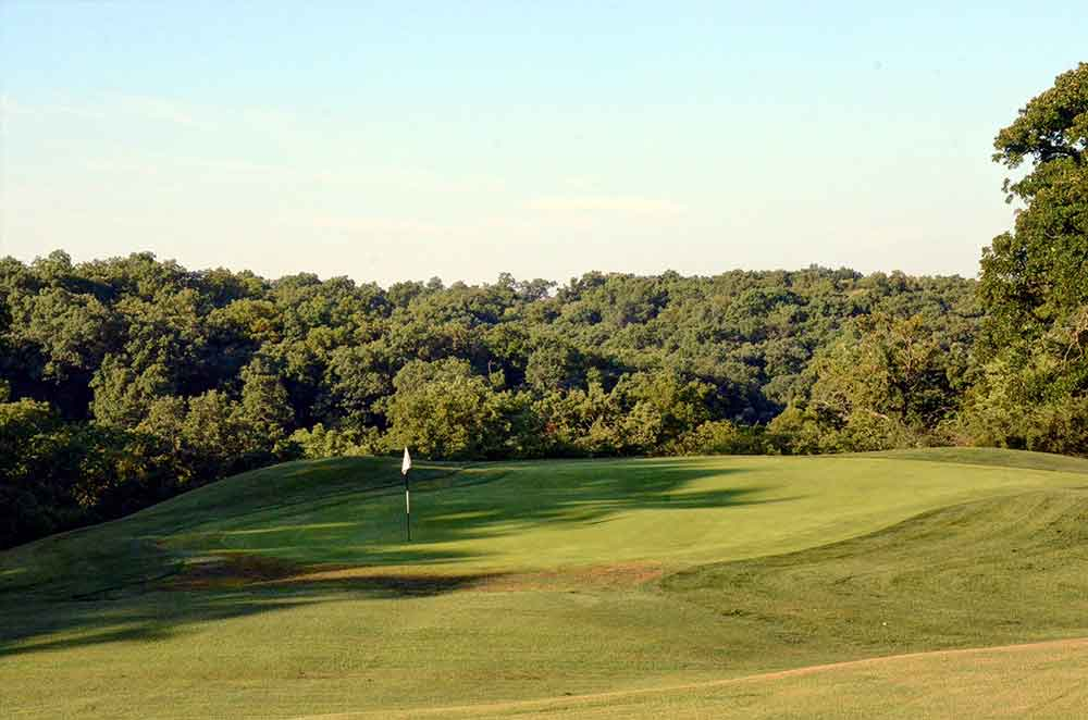 Swope-Memorial-Golf-Course,-Kansas-City,-MO-Woods