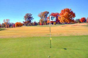 Highlands Golf and Tennis Center, Flag on green